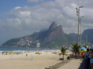 Ipanema Beach in Rio de Janeiro. (Photo from Wiki Commons)
