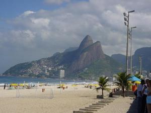 Ipanema Beach in Rio de Janeiro. (Photo from Wiki Commons)