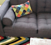 The Nesbit Multi pillow cover from Crate & Barrel.