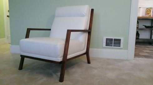 The Noah leather chair from Kasala. Super comfy!