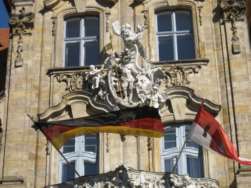 City hall of Bamberg.