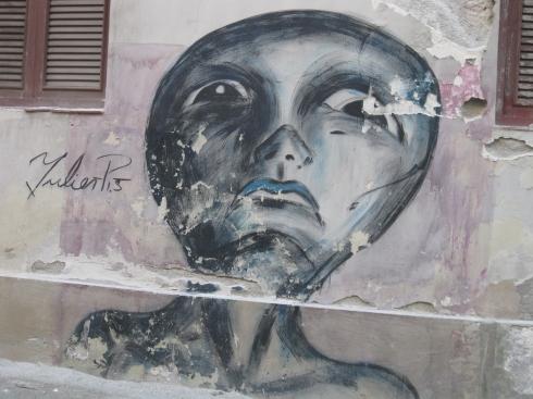 Street art in Havana.
