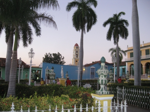 The Plaza Mayor in Trinidad.