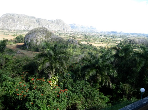 The Vinales valley.