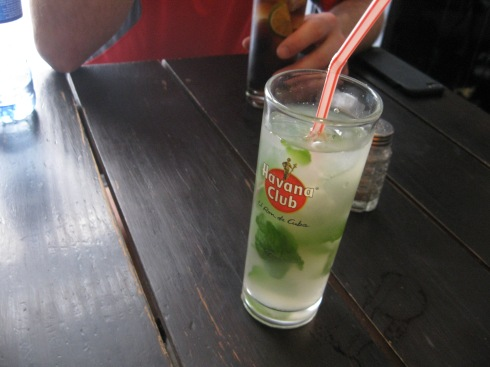 You can't visit Havana without trying a mojito. It was pretty tasty.